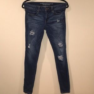 American Eagle Lightly Distressed Jeans